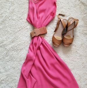 Pink Ann Taylor Dress